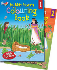 Jacket image for My Bible Stories Colouring Books 1 & 2