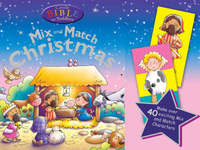 Jacket image for Candle Bible for Toddlers Christmas Mix and Match