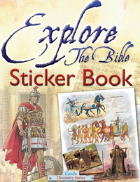 Jacket image for Explore the Bible Sticker Book
