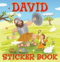 Jacket image for David Sticker Book