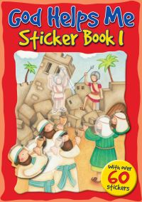 Jacket image for God Helps Me Sticker Book 1