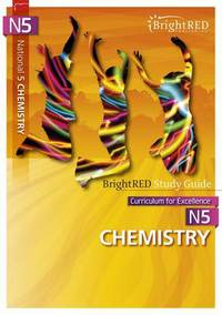 Jacket Image For: BrightRED Study Guide: National 5 Chemistry