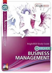 Jacket Image For: CfE higher business management