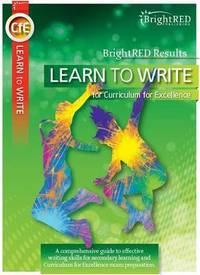 Jacket Image For: Learn to write for CfE