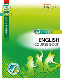 Jacket Image For: BrightRED BGE Course Book Level 3 English