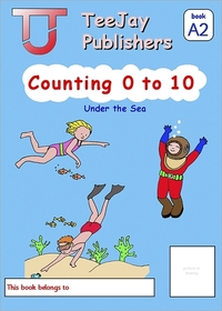 Jacket Image For: TeeJay Mathematics CfE Early Level Counting 0 to 10: Under the Sea (Book A2)