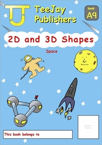 Jacket Image For: TeeJay Mathematics CfE Early Level 2D and 3D Shapes: Space (Book A9)