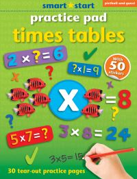Jacket Image For: Smart Start Practice Pad: Times Tables
