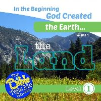 Jacket Image For: In the Beginning God Created the Earth - The Land