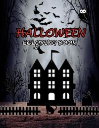 Jacket Image For: Halloween Coloring Book