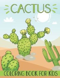 Jacket Image For: Cactus Coloring Book For Kids