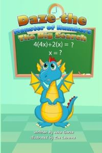 Jacket Image For: Children's Book Daze The Monster of Numbers