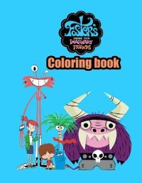 Jacket Image For: Foster's home for imaginary friends Coloring Book