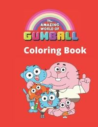Jacket Image For: Gumball Coloring Book