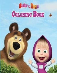 Jacket Image For: Masha and the bear coloring book