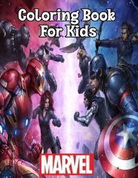 Jacket Image For: Marvel Coloring Book For Kids