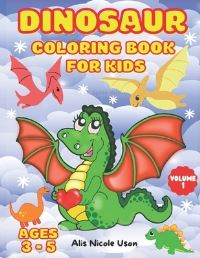 Jacket Image For: Dinosaur Coloring Book for Kids
