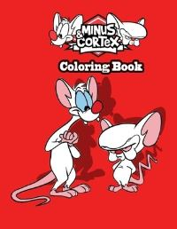Jacket Image For: Minus & Cortex Coloring book