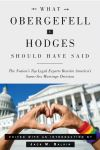 """What Obergefell v. Hodges Should Have Said"" by Jack M. Balkin (editor)"