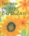 Jacket Image For: For You On Your Birthday
