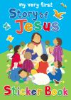 Jacket Image For: My Very First Story of Jesus sticker book