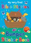 Jacket Image For: My Very First Bible Stories Bumper Sticker Book