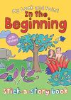 Jacket Image For: My Look and Point In the Beginning Stick-a-Story Book