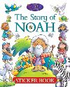 Jacket Image For: The Story of Noah Sticker Book