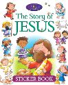 Jacket Image For: The Story of Jesus Sticker Book