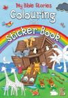 Jacket Image For: My Bible Stories Colouring and Sticker Book