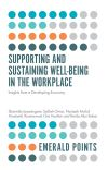 Jacket Image For: Supporting and Sustaining Well-Being in the Workplace