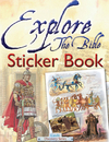 Jacket Image For: Explore the Bible Sticker Book