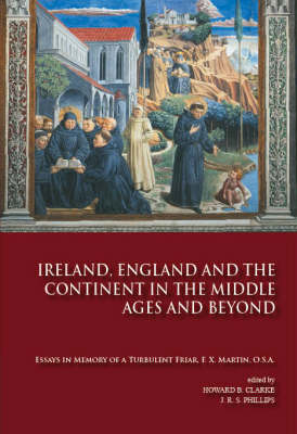 Ireland, England and the Continent in the Middle Ages and Beyond Jacket Image