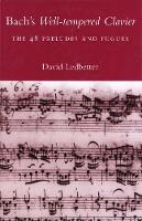 """Bach's Well-tempered Clavier"" by David Ledbetter"