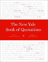 """""""The New Yale Book of Quotations"""" by Fred R. Shapiro"""