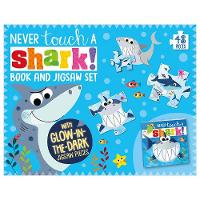 Jacket Image For: Never Touch A Shark Book and Jigsaw Boxset