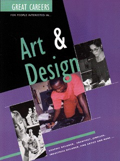 Image for Great careers for people interested in art & design