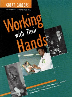 Image for Great careers for people interested in working with their hands
