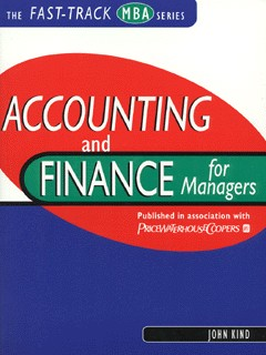 Image for Accounting and finance for managers