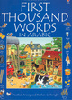 Image for The Usborne first thousand words in Arabic  : with easy pronunciation guide