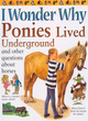Image for I wonder why ponies lived underground and other questions about horses