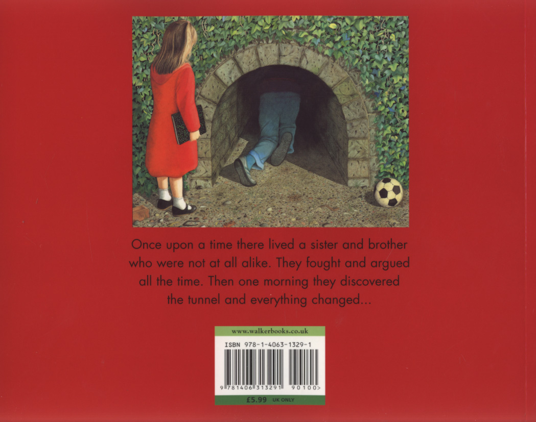 The Tunnel By Browne Anthony 9781406313291 Brownsbfs