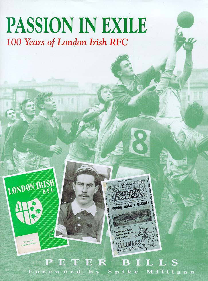 Image for London Irish  : 100 years of the exiles