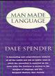 Image for Man-made language