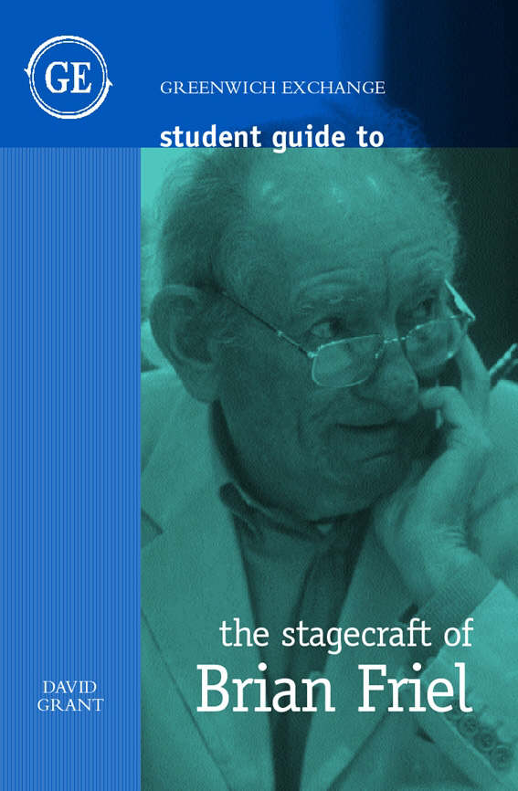 Image for The stagecraft of Brian Friel