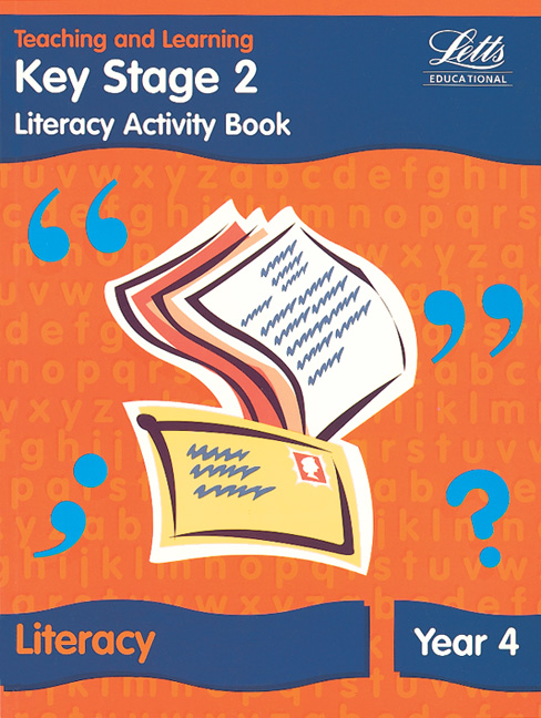 Image for Literacy activity bookYear 4