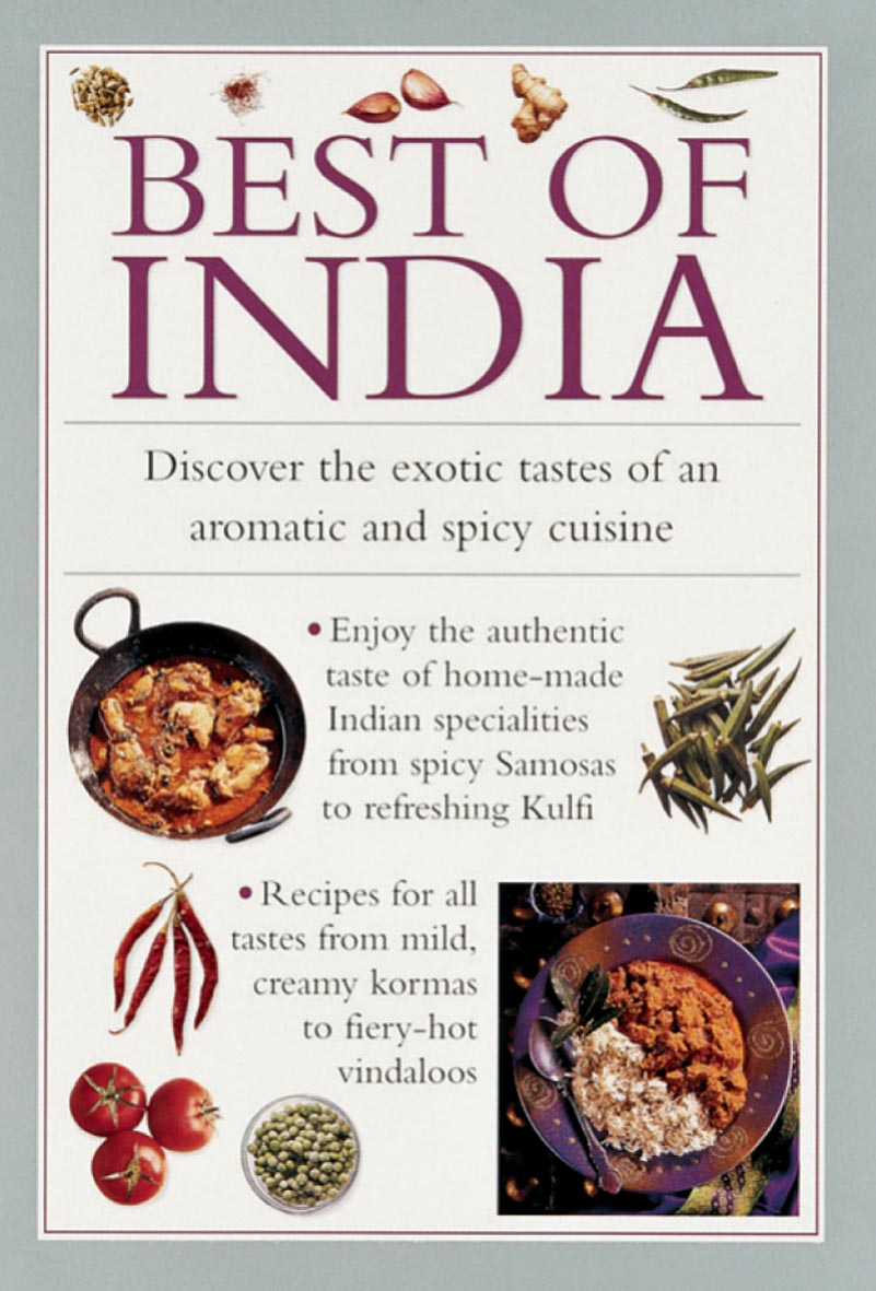 Image for Best of India  : discover the exotic tastes of an aromatic and spicy cuisine