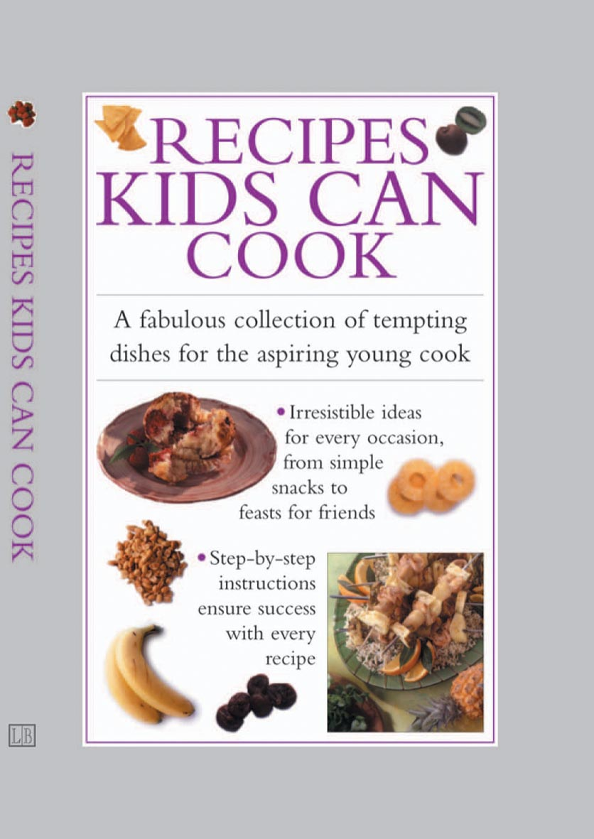 Image for Recipes kids can cook  : a fabulous collection of tempting dishes for the aspiring young cook