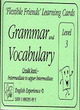 Image for Grammar and vocabularyLevel 3 : Level 3 : Learning Cards