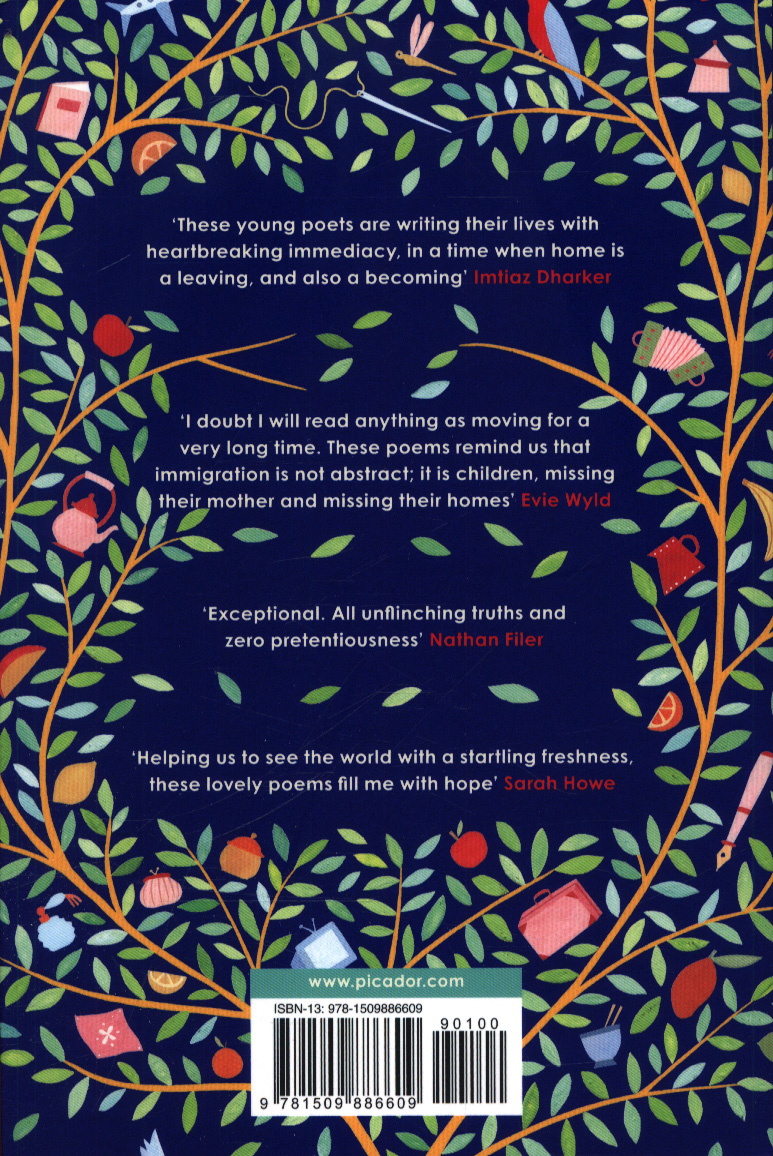 England : poems from a school by Clanchy, Kate